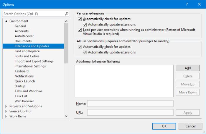 Setup Visual Studio to access preview versions feed – nanoframework